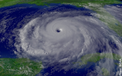 Hurricanes and tropical cyclones