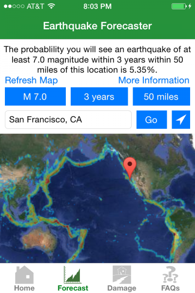 Earthquake Forecaster